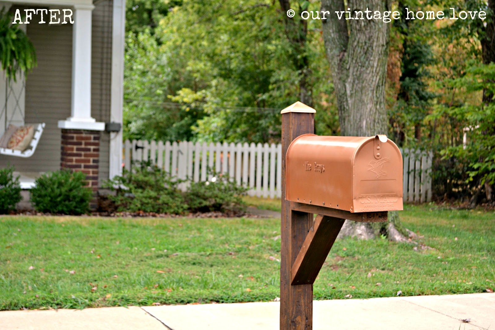 vintage home love mailbox ideas