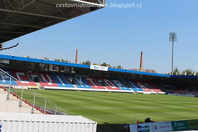 fotbalový stadion FC Viktoria Plzeň // FC Viktoria Plzeň football stadium