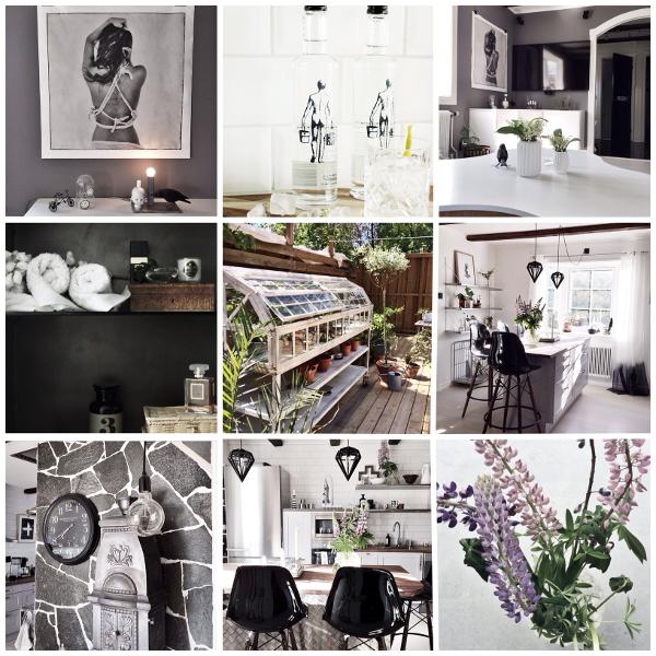 instagram, instagrambilder, annelies design & interior, anneliesdesign, svartvittochrott, svart vitt och rött, inredning, inredningsblogg, blogg, blommor, kök, uteplats, trädäck, detaljer, webbutik