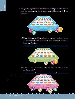 Respuestas Apoyo Primaria Desafíos matemáticos 3er grado Bloque 1 lección 3 Tablero de canicas