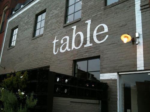 Table DC restaurant