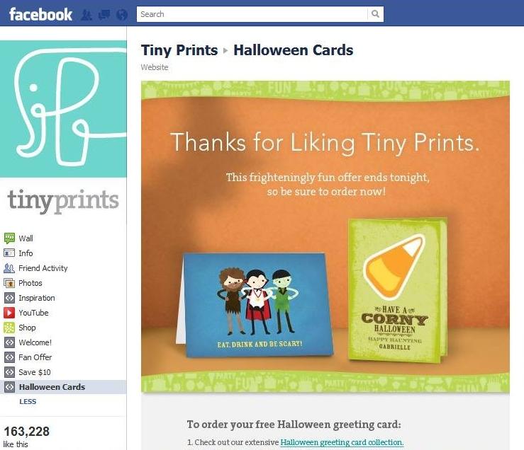 tinyprints discount september 2018 coupons