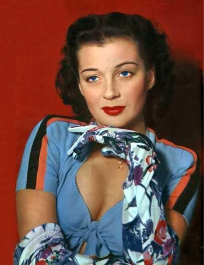 Gail Russell #1940s #gloves #vintage #40s #fashion
