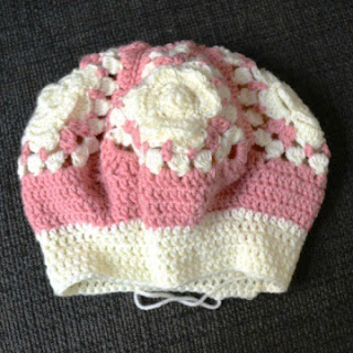Granny Squares Mütze