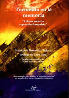 Tormenta en la memoria Francisco González Tejera