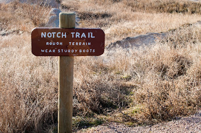Badlands National Park: Notch Trail