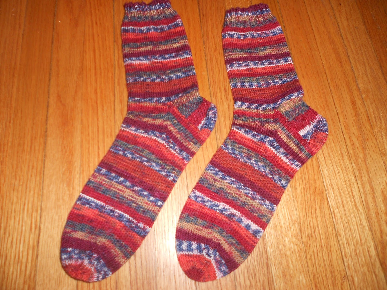 Knitting Pattern For Basic Socks : Knitting II: Basic Knit Sock