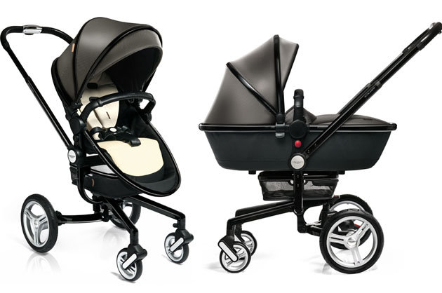 Aston martin 39 s 3 000 luxury baby stroller les bons for Mercedes benz baby pram