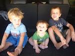Weston 4.5, Caleb 2.5, Tyson 6 Months