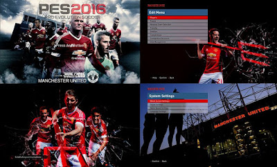 Graphic Menu untuk PES 2016