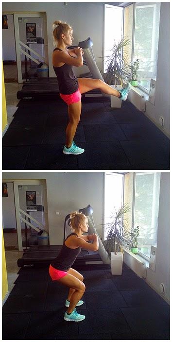 ćwiczenia na nog