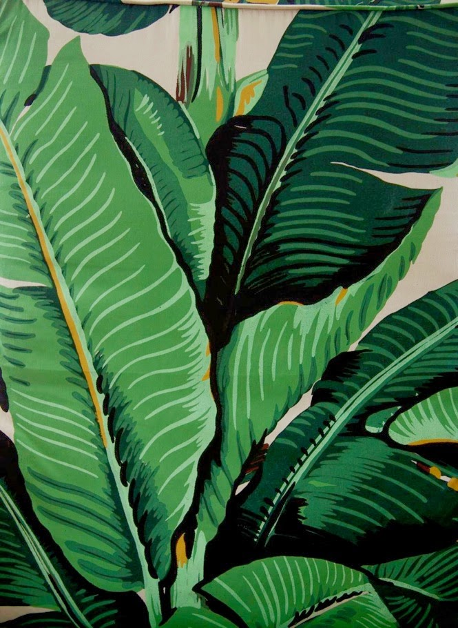 martinique banana leaf wallpaper