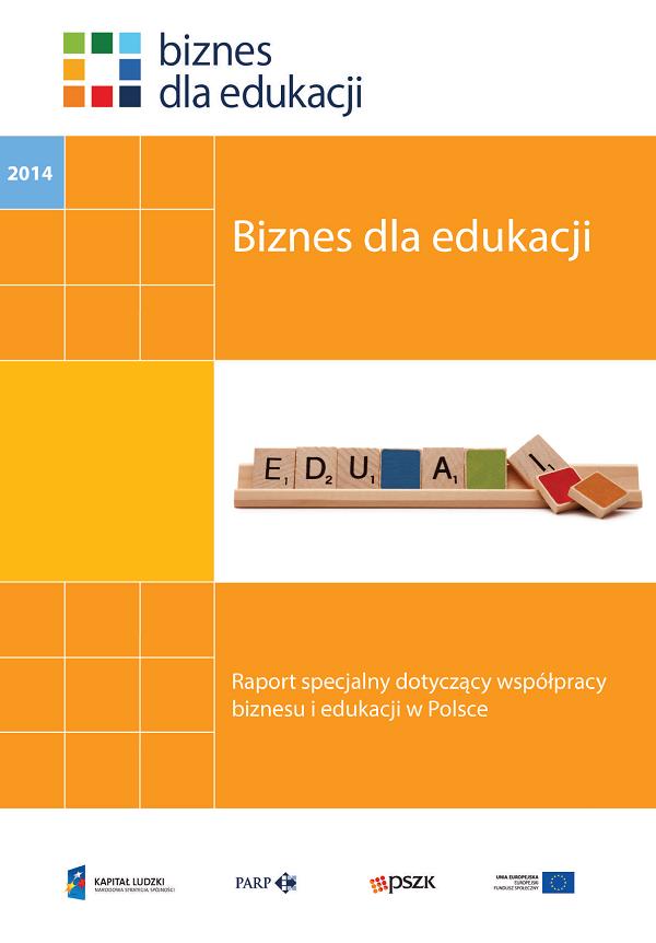 """Okładka publikacji """"Biznes dla edukacji"""""""