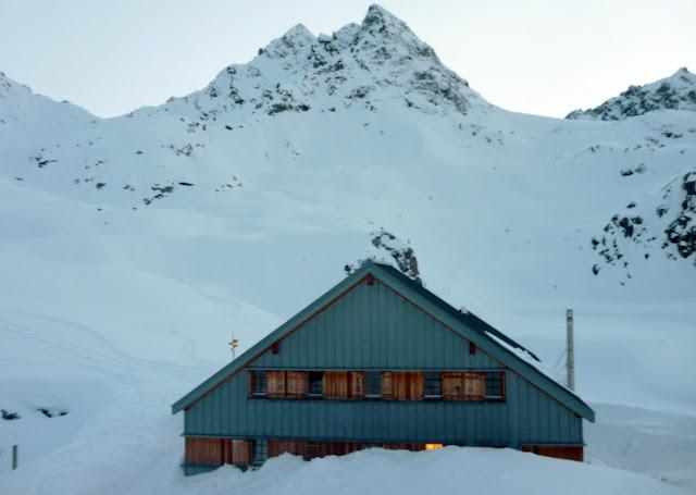 Travesia esqui de montaña:Chamonix-Zermatt:Verbier-Cabaña Prafleuri