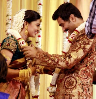 Sneha and Prasanna Wedding Reception pics