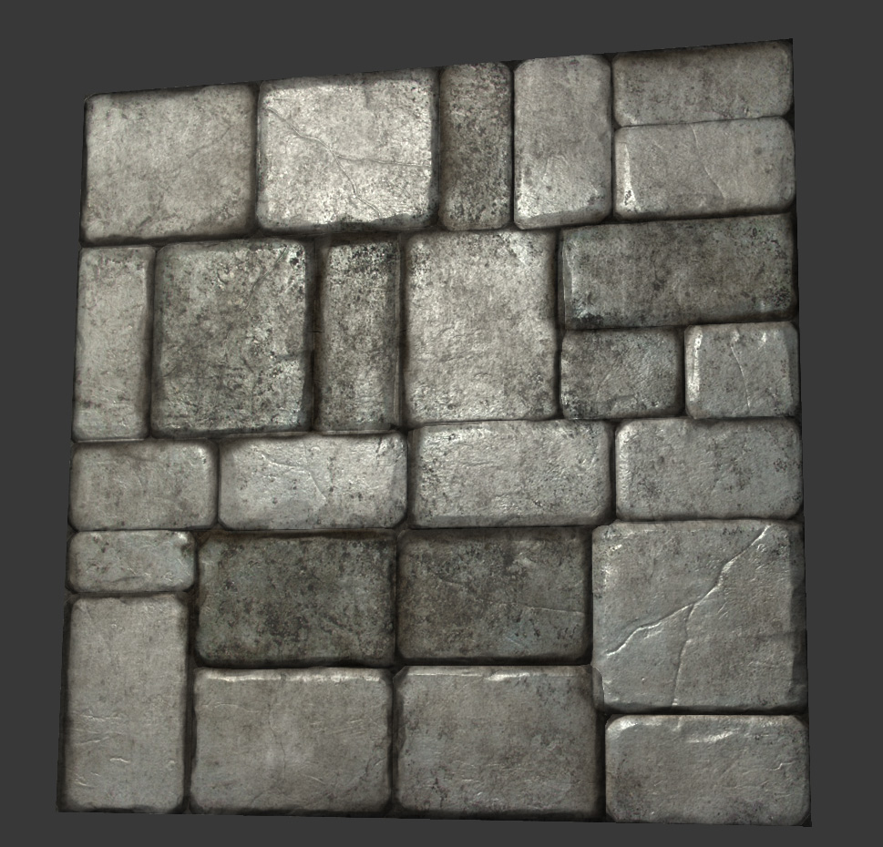 Don pham environment artist art blog simple stone wall for Stone wall art