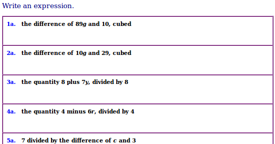 free worksheets for math