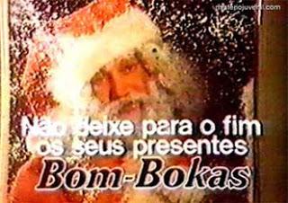 ... do anúncio Bom-Bokas de Natal