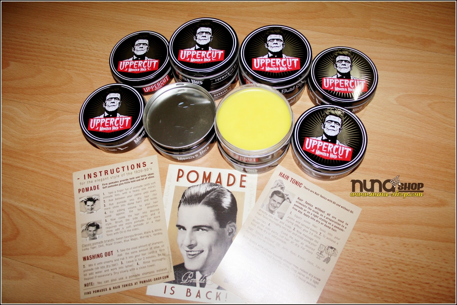 Monster Hold Pomade Strong Hold Sweat Resistant 2.5oz