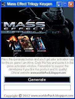 Серийный номер для Mass Effect 3, возникающая при знакомстве с сюжетом этой