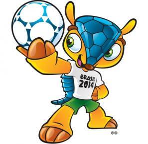 'Fuleco', la mascota oficial del mundial Brasil 2014
