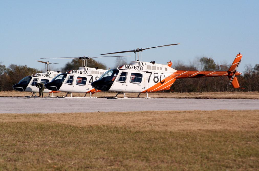Los TH-67 son ampliamente usados por el US Army en labores de instrucción de pilotos. Colombia