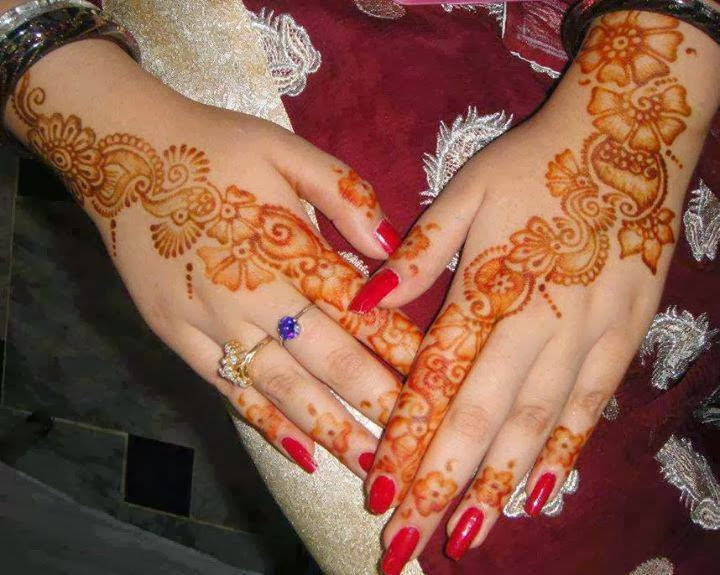 FACEBOOK DP AND COVER: MEHNDI DESIGNS