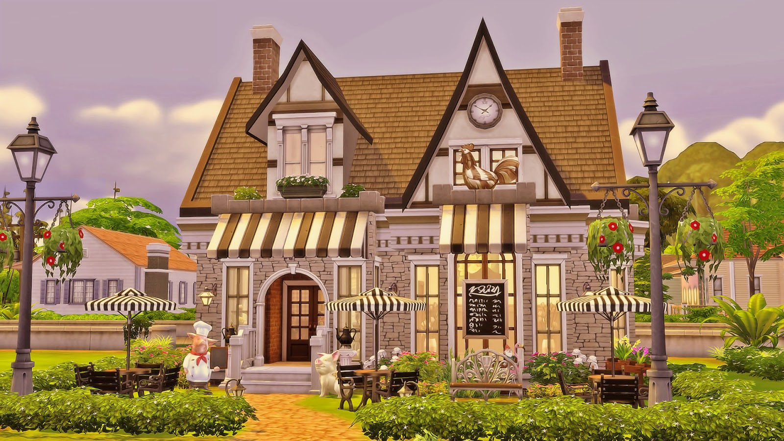 Grandma 39 s kitchen sims 4 houses for Classic house sims 3