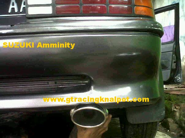Knalpot racing Suzuki Amenity title=