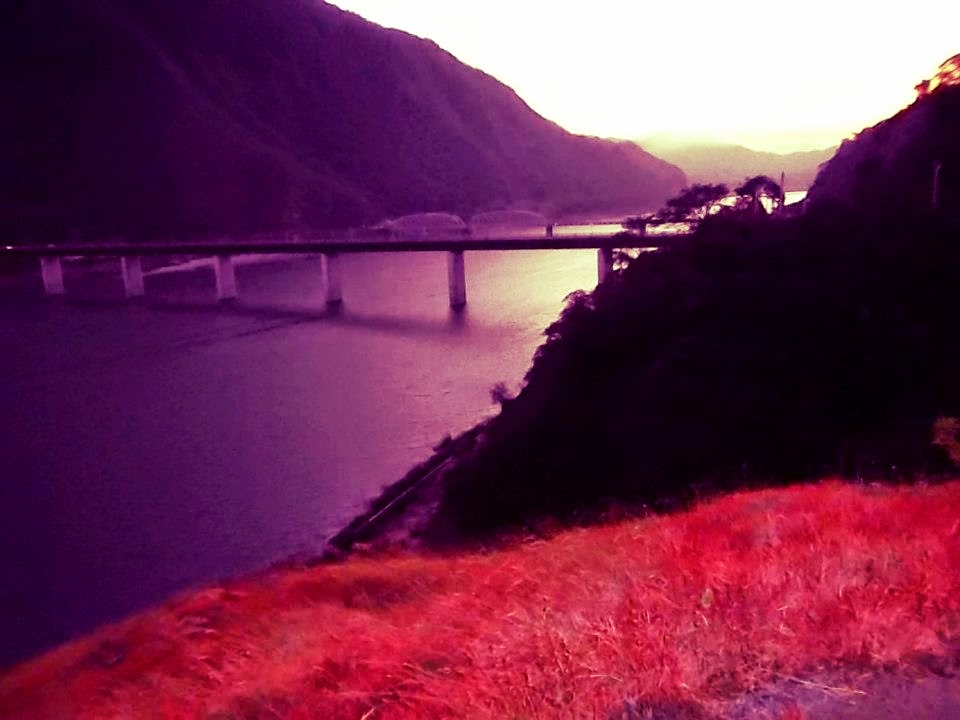 sunrise at Sta. Ana Bridge, Ilocos