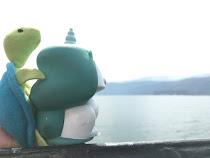 Keryn et Franklin sur la Columbia River