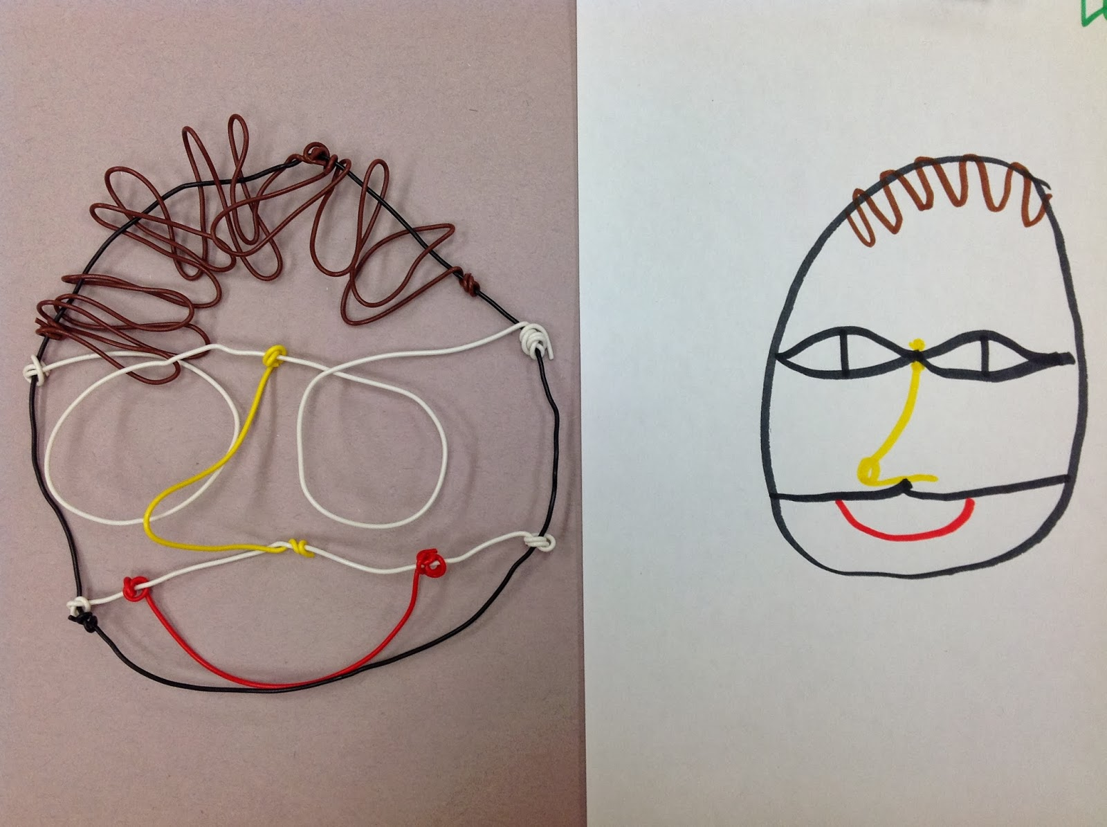 Fifth Grade Wire Portrait