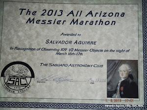Maraton Messier 2013.