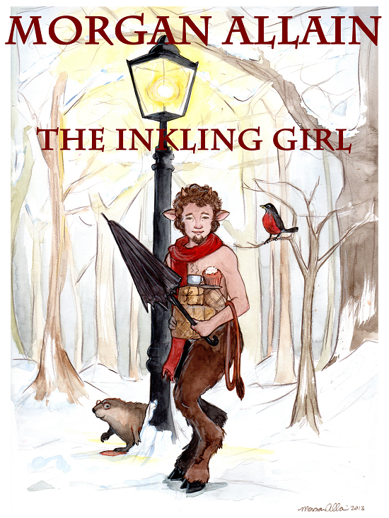 Morgan Allain Illustration from Narnia Chronicles