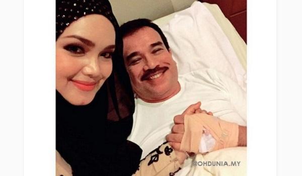 Siti Nurhaliza minta peminat doakan Datuk K yang diserang demam denggi