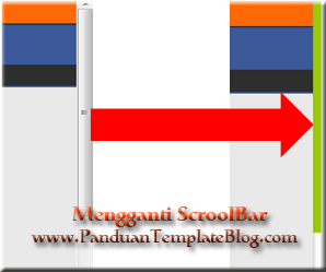 Mengganti ScrollBar Layar Blog