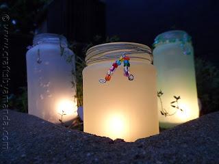 Reciclatex Cómo hacer lámparas con botes de cristal
