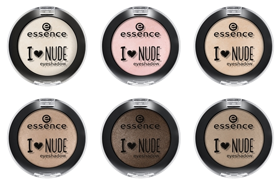 Essence Trend Edition I love nude Eyeshadow