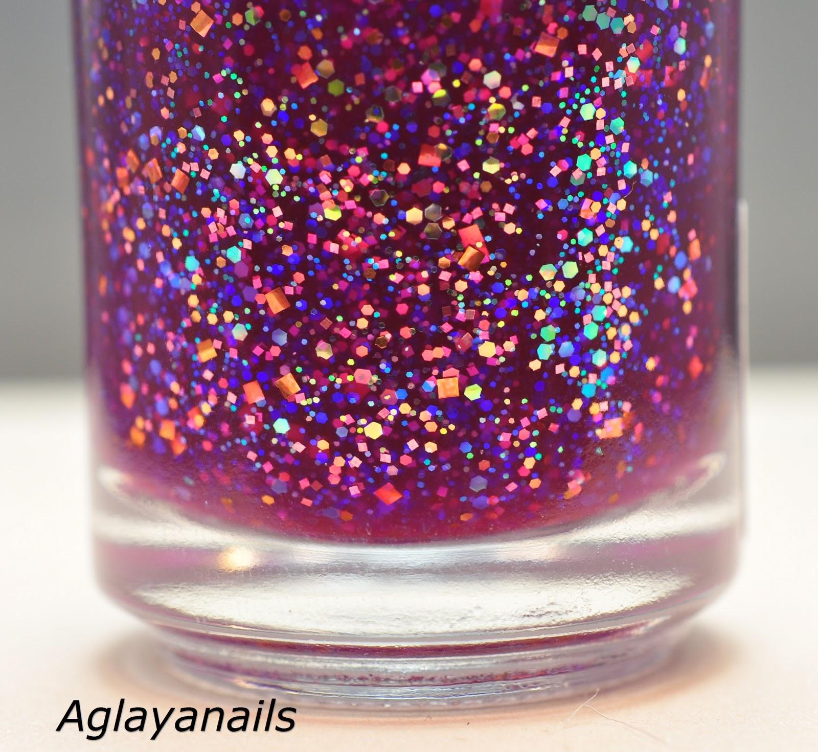 Aglayanails: Visions of Sugar Plums