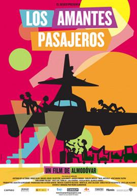 Los amantes pasajeros nueva película Almodóvar