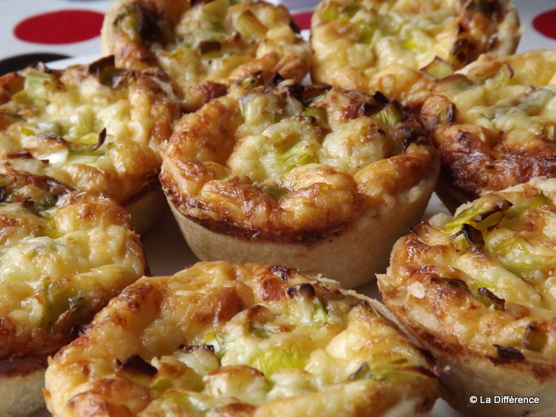 such a cheeseaholic and these Cheddar Cheese & Leek Quiches really ...