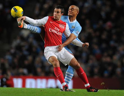 Hasil Skor Manchester City vs Arsenal 1-0