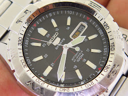 SEIKO 5 SPORTS BLACK DIAL - AUTOMATIC 7S36