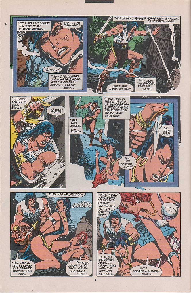 Conan the Barbarian (1970) Issue #262 #274 - English 5
