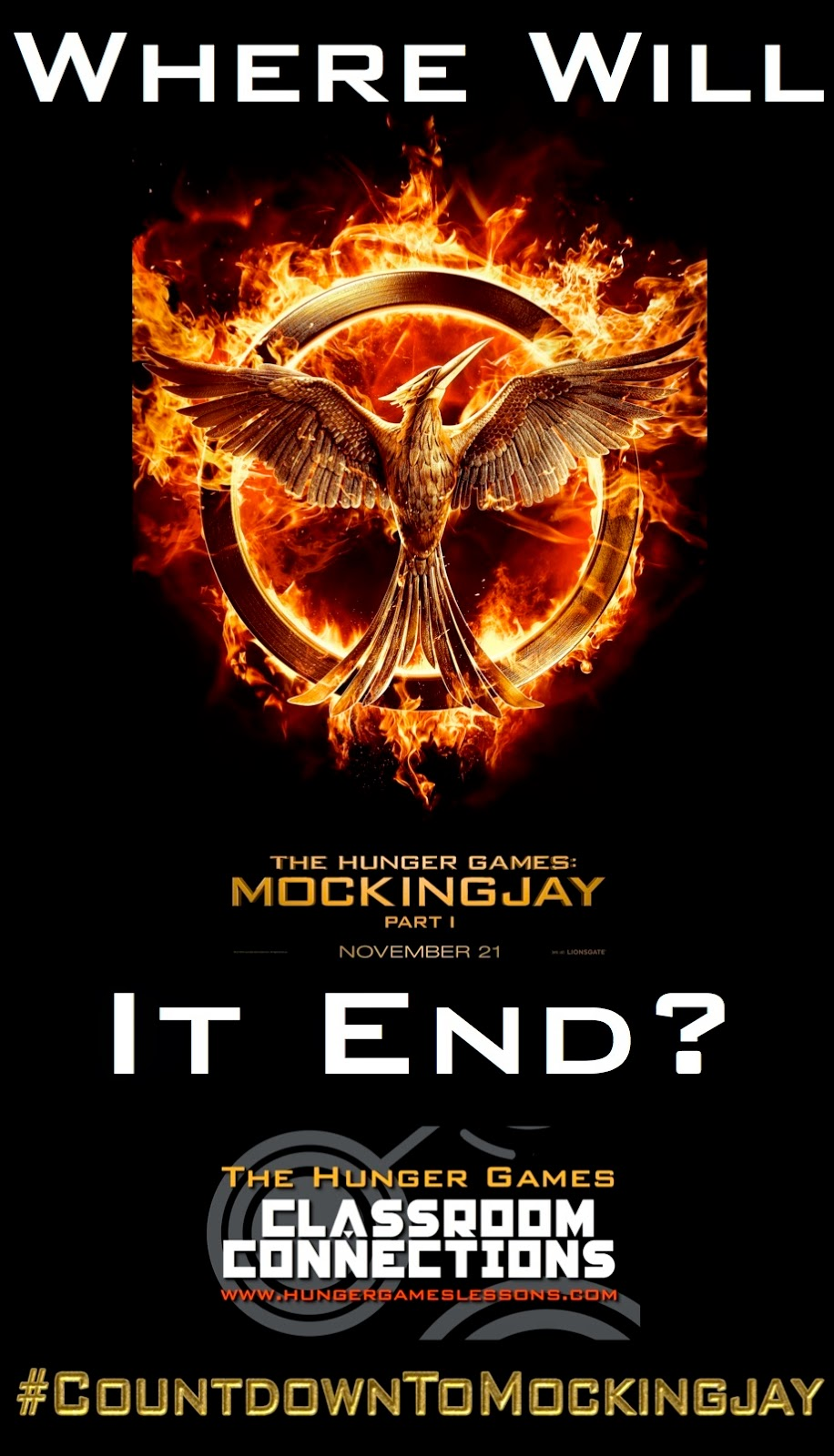 Where will Mockingjay: Part 1 end? Click to find out...
