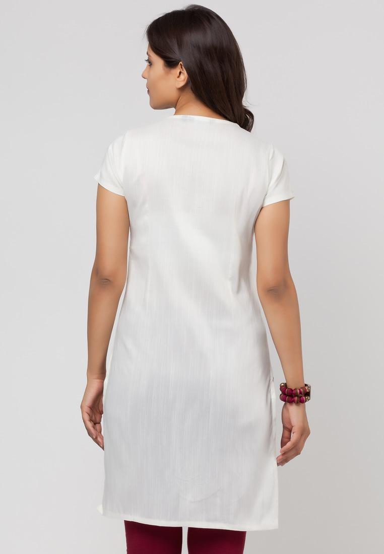 Fashion Move Style U0026 Tips Cotton White Kurta Wear Cute Modle
