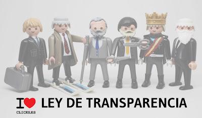 LEY DE TRASPARENCIA, PP, PSOE, CCOO, UGT, CEOE, REY DE ESPAÑA