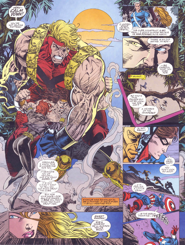 Captain America (1968) Issue #440b #393 - English 16