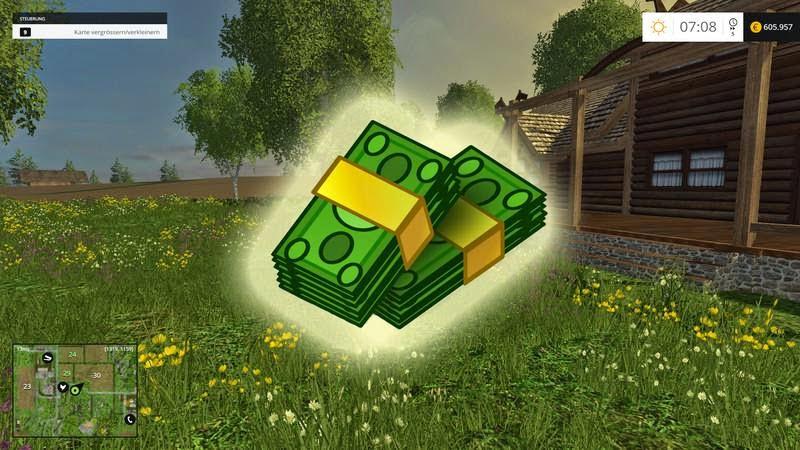 Как сделать деньги для farming simulator 2015