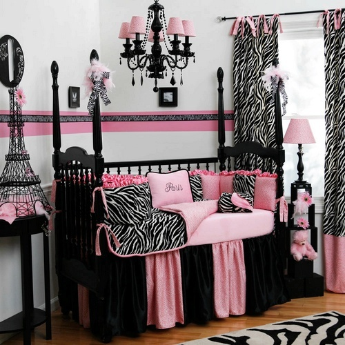 Coffee breaking news baby rooms for girls decoration for Baby girl room decoration